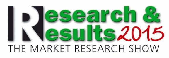 Research & Results Messe 2015