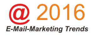 E-Mail-Marketing Trends 2016
