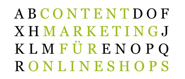 content marketing fur online shops
