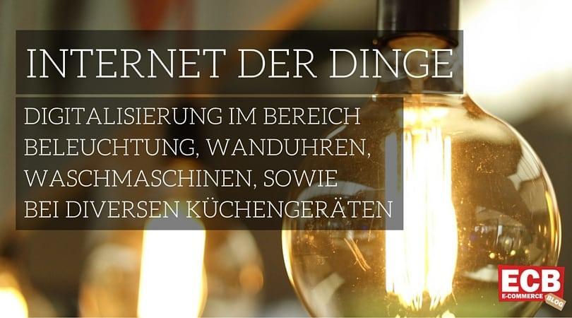 Definition Internet der Dinge