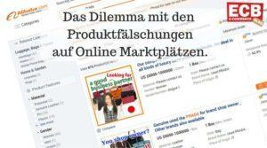 Produktfälschungen auf Online Marktplätzen