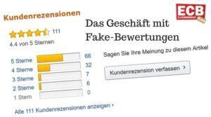 Amazon Fake-Bewertungen