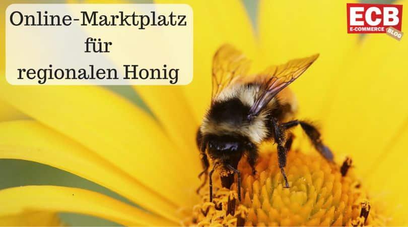 Online Marktplatz für regionalen Honig