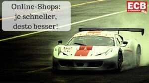 Die Ladegeschwindigkeit von Online Shops verbessern.