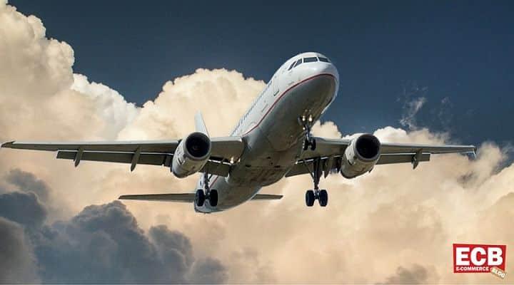 Online-Shopping für Flugreisende