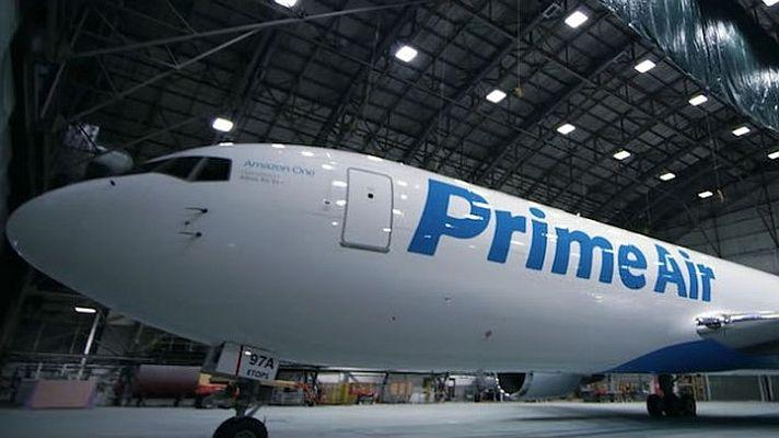 "Die ""Amazon One"" bringt Prime Air"