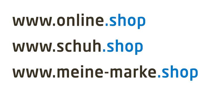 Diese Vorteile bringt die neue .shop-Domain den Unternehmen im E-Commerce