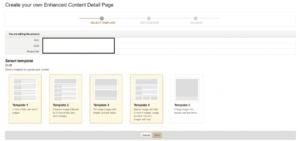 Enhanced Brand Content - A+