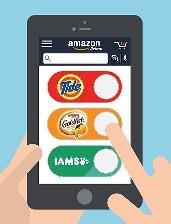 Dash Button auf dem Smartphone