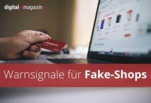 Zahl betrügerischer Fake Shops nimmt zu