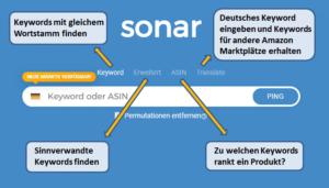 Amazon Keyword Recherche Tool