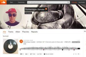 Domenique Xander bei Soundcloud