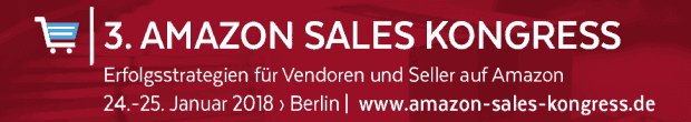 Zum 3. Amazon Sales Kongress