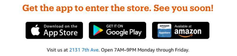 Amazon Go App herunterladen
