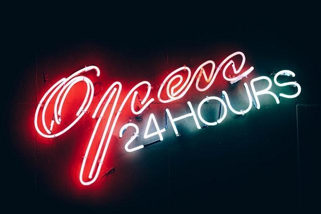 Onlinehandel ohne Öffnungszeiten