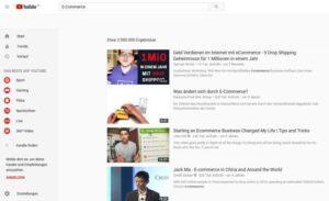 YouTube Werbung für Onlinehändler im E-Commerce