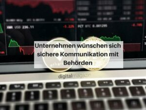 Sichere Kommunikation zwischen Behörden und Unternehmen mit der Blockchain-Technologie