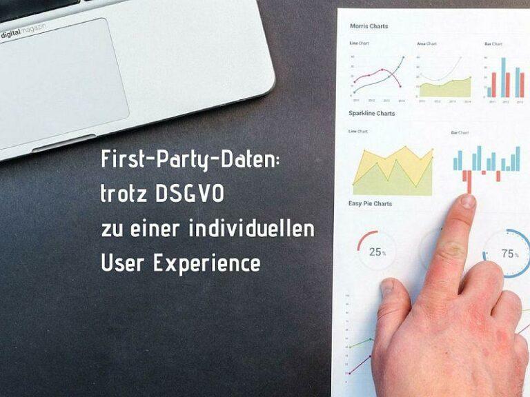 First Party Daten und die DSGVO
