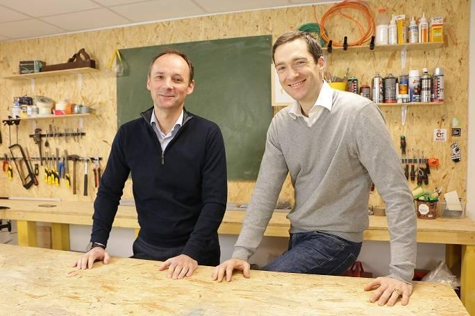ManoMano-Gründer Christian Raisson und Philippe de Chanville