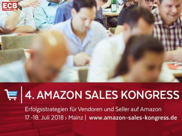 4. Amazon Sales Kongress am 17./18 Juli 2018 in Mainz