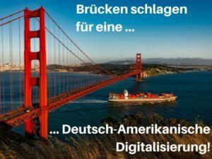 Bundespräsident Steinmeier im Silicon Valley bei San Francisco