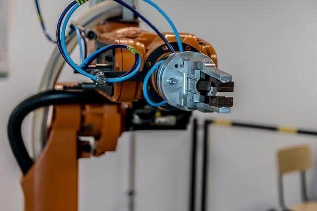 Automatisierung: Ein Industrieroboter