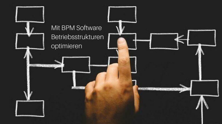 Mit BPM Software Betriebsstrukturen optimieren