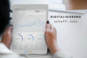 Joblift sagt: Die Digitalisierung schafft Jobs