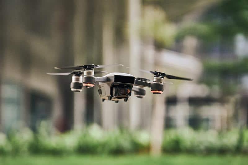 Digitalisierung in der Fortswirtschaft mit Drohnen