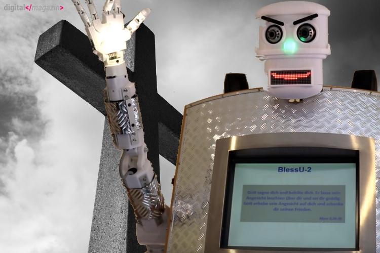 BlessU-2: Roboter nimmt die Beichte ab