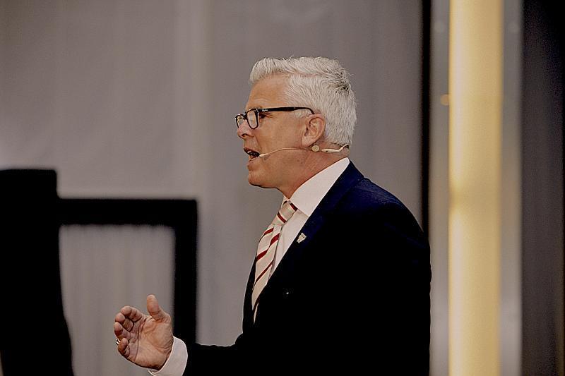 Entrepreneur Michael Scheibe