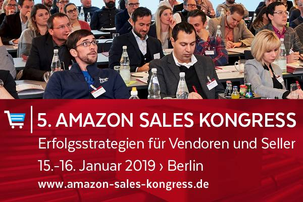 5. AMAZON SALES Kongress 2019