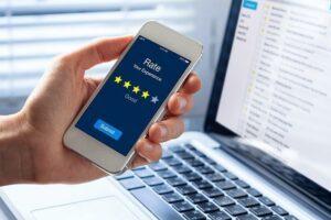 Onlinebewertungen in der Finanzbranche