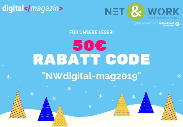 Net&Work 2019 Ticket Rabattcode