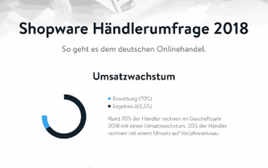 Shopware Händlerumfrage 2018