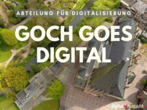 Goch: Abteilung für die Digitalisierung