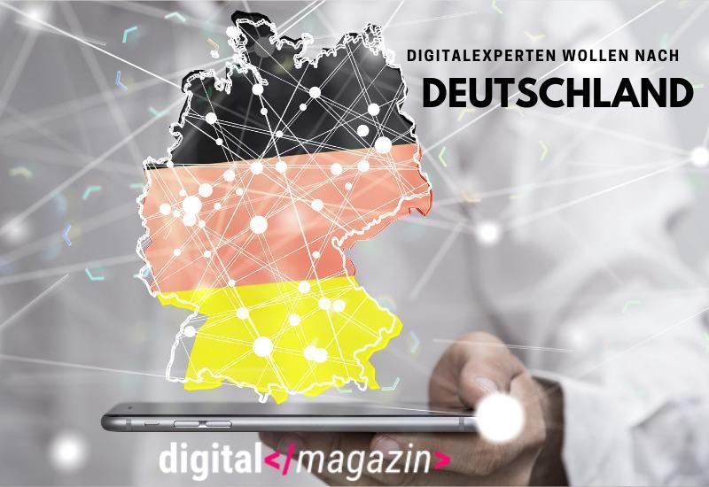 Digitalexperte wollen nach Deutschland