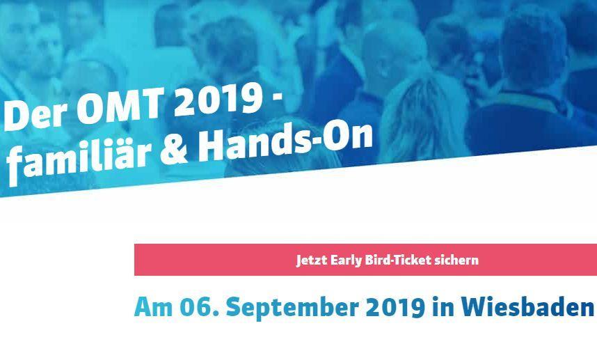 OMT 2019 in Wiesbaden