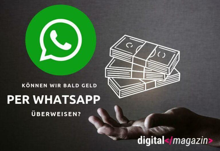 Whatsapp Bezahlfunktion