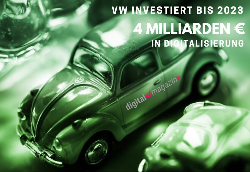 VW Digitalisierung
