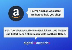 Amazon Assistant – Nutzer schenken dem Onlineriesen ihre Daten
