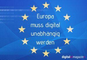 Digitale Souveränität Europas