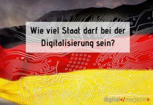 Wer ist für die Digitalisierung in Deutschland verantwortlich?