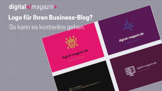 Business Blog Logo erstellen