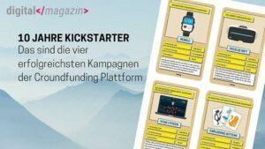 Die erfolgreichsten Kickstarter Kampagnen