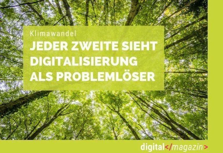 Digitalisierung und der Klimawandel
