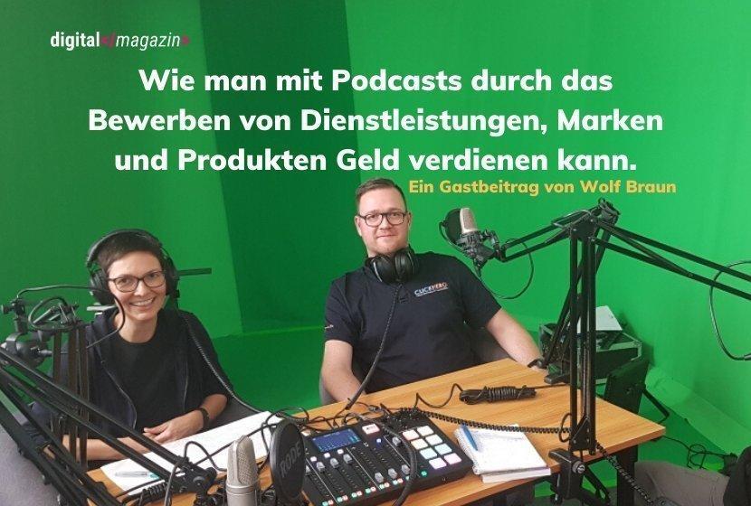 So kann man mit Podcasts Geld verdienen.