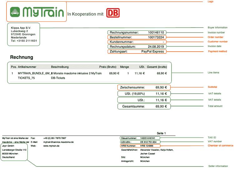 Rechnungen mit OCR digitalisieren