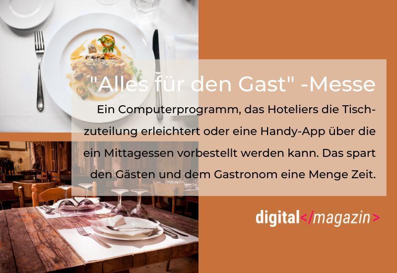 Digitale Gastronomie