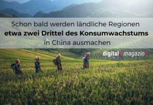 Chinas E-Commerce – Digitalisierung kommt ländlichen Regionen zugute